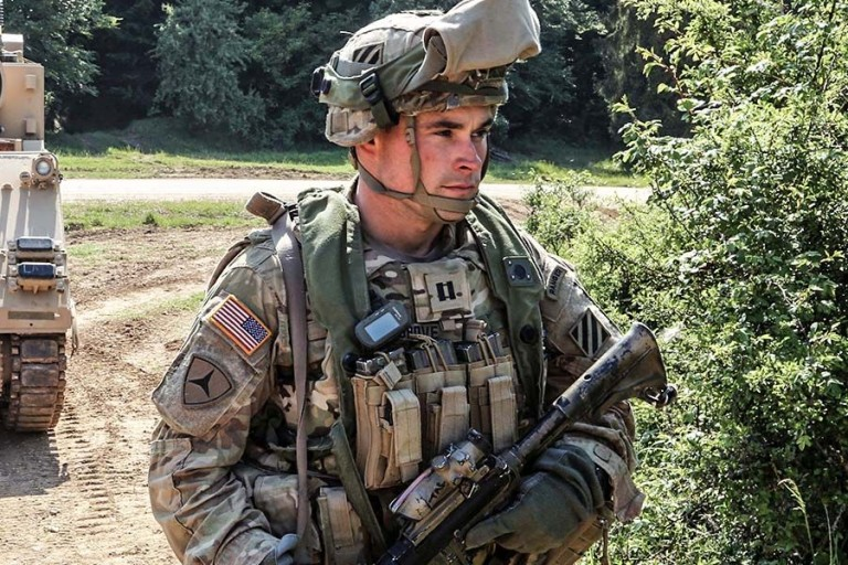 Coating of small-arms protective inserts for military ballistic vests